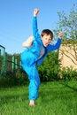 Free Karate Kid Stock Photos - 9779173