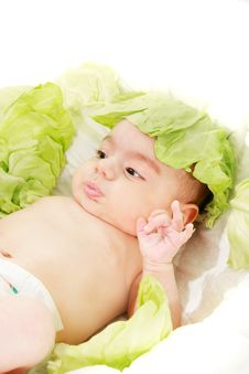 Free Concept Portrait Of Newborn Baby Stock Photography - 9772302