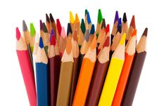 Free Color Pencils Stock Images - 9772504