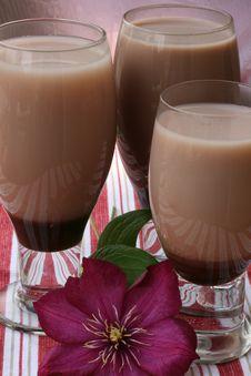 Free Chocolate Sodas Stock Photos - 9773283