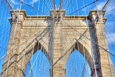 Free Brooklyn Bridge Stock Image - 9774851