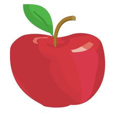 Free One Red Apple Stock Image - 9774991