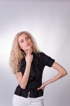 Free Sensual Businesswoman Royalty Free Stock Photos - 9776258