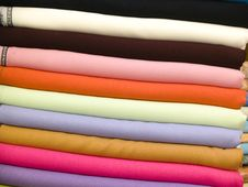 Free Colored Towes Royalty Free Stock Image - 9776696