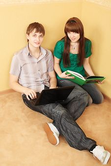 Free Couple On A Floor Stock Photos - 9776923