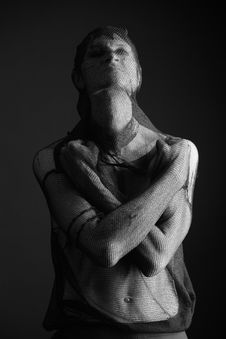 Free Dark Man Stock Images - 9776934