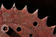 Free Rusty Gear Royalty Free Stock Images - 9777229