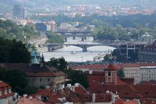 Free Prague. Beautiful View Stock Images - 9777364
