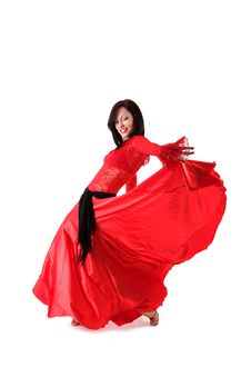 Free Dancer In Action Royalty Free Stock Photos - 9777818