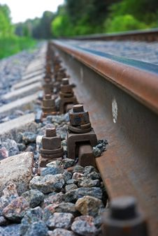 Free Railway Goes Far Royalty Free Stock Image - 9778246