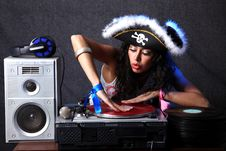 Free Cool DJ Stock Photography - 9778902