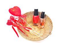 Free Nail Paints Stock Photos - 9779793