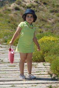 Free Little Girl Posing Stock Photos - 9779903