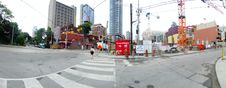 Free Intersection Of Jarvis And Dundas, 2017 08 04 -a Royalty Free Stock Image - 97735366