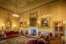 Free Harewood House The Yellow Drawing Room Royalty Free Stock Photography - 97787507