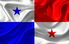 Free Panama Flag Royalty Free Stock Photography - 97787987