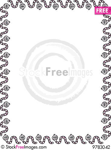 Free Worms Frame Stock Photography - 9783042