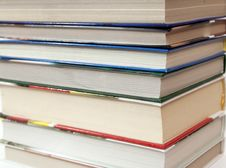 Free Books Background Royalty Free Stock Images - 9780129