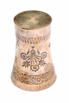Free Antique Metal Glass Stock Image - 9780661