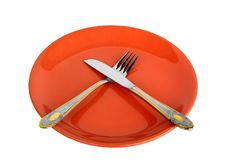 Free Empty Plate Royalty Free Stock Image - 9781096