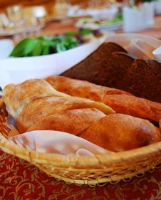 Free Loaves In A Trug Royalty Free Stock Photography - 9781547