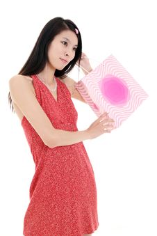 Free Asian Shopping Girl Stock Images - 9781574