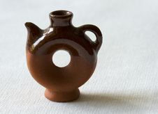 Free Clay Ceramic Kettle Stock Images - 9781794
