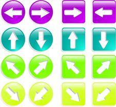 Free Web Icon Set Royalty Free Stock Images - 9782729