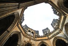 Free Batalha Monastery Inperfect Chapels Stock Photos - 9783193