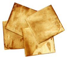 Paper Scraps Royalty Free Stock Photography