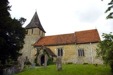 The Parish Church Of St Martin Of Tours Detling Royalty Free Stock Image