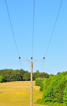 Free Power Pole Stock Images - 9784404