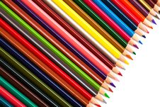 Free Color Pencils Royalty Free Stock Photo - 9784585