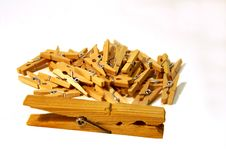 Free Bunch Of Little Clothes Pins Royalty Free Stock Photos - 9786808