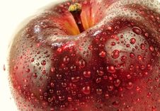 Free Red Apple Macro Stock Photography - 9787722