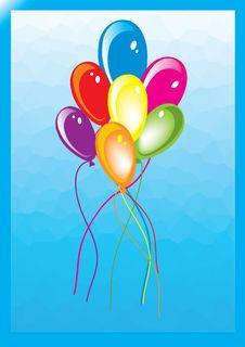 Free Baloon Royalty Free Stock Photography - 9788677