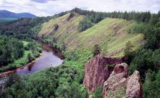 Free Wild Siberian River Royalty Free Stock Photo - 9788685