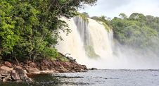 Free Waterfall At Canaima National Park Royalty Free Stock Photos - 9788888