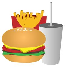 FastFood Royalty Free Stock Images