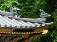 Free Japan Sendai Temple Dragons Royalty Free Stock Photo - 97838555