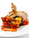 Free Hot Meat Dishes - Bone-in Lamb Royalty Free Stock Photos - 9791748
