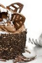 Free Miniature Chocolate Cake Stock Images - 9799144