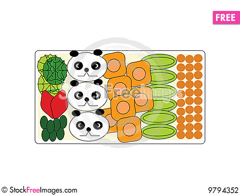 Free Bento Lunch Stock Photography - 9794352