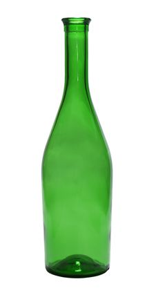 Free Old Green Bottle Royalty Free Stock Photography - 9790497