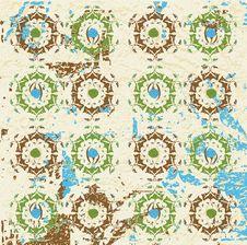 Free Antique Ottoman Grungy Wallpaper Raster Design Stock Photo - 9790810