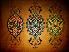 Free Traditional Ottoman Turkish Seamless Tile Design Royalty Free Stock Photos - 9791318