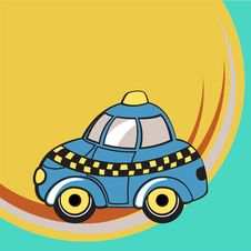 Free Funky Taxi Stock Photography - 9791372