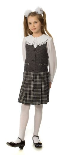 Free The Cherry Girl In A School Uniform Stock Image - 9791971