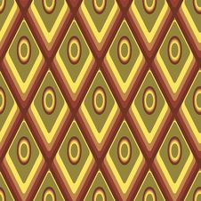 Seamless Yellow And Brown Background Royalty Free Stock Photography