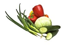 Free Vegetable Mix Royalty Free Stock Photography - 9793267